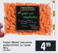 Farmer's Market Mini Carrots - 907 G