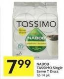 Nabob Tassimo Single Serve T Discs 12-14 Pk