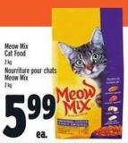 Meow Mix Cat Food 2 Kg