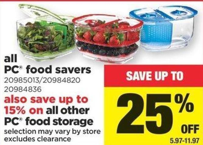 All PC Food Savers
