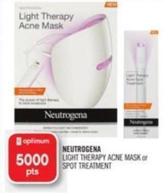 Neutrogena Light Therapy Acne Mask or Spot Treatment