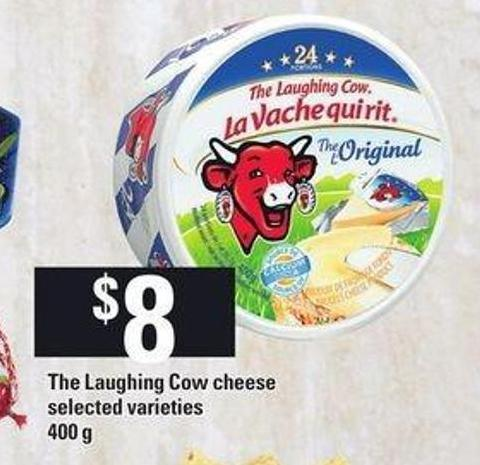 The Laughing Cow Cheese.