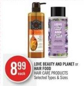 Love Beauty And Planet or Hair Food Love Beauty And Planet or Hair Food