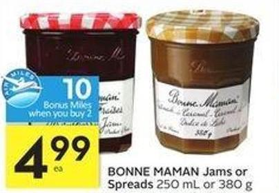 Bonne Maman Jams or Spreads