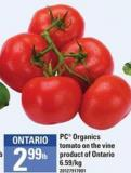 PC Organics Tomato On The Vine