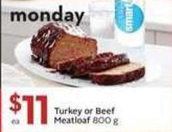 Turkey or Beef Just Go Meatloaf