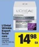 L'oréal Wrinkle Expert Facial Care - 14g/15-120 Ml