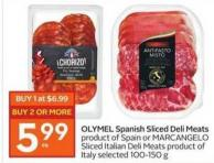 OLYMEL Spanish Sliced Deli Meats