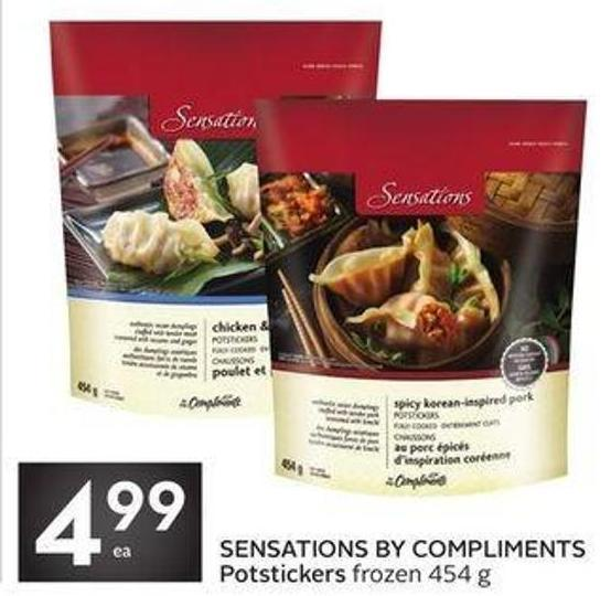 Sensations By Compliments Potstickers