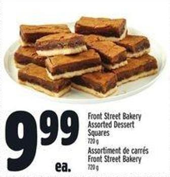 Front Street Bakery Assorted Dessert Squares