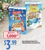 Sugar Cookie Toast Crunch - 340 G - Cinnamon Vanilla Lucky Charms - 340 G