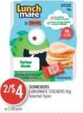 Schneiders Lunchmate Stackers 90g