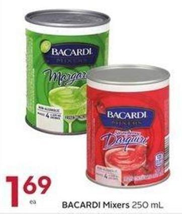 Bacardi Mixers 250 ml