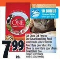 Cat Chow Cat Food Or One Smartblend Dog Food