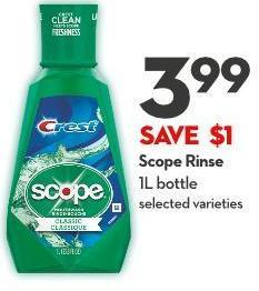 Scope Rinse 1l Bottle