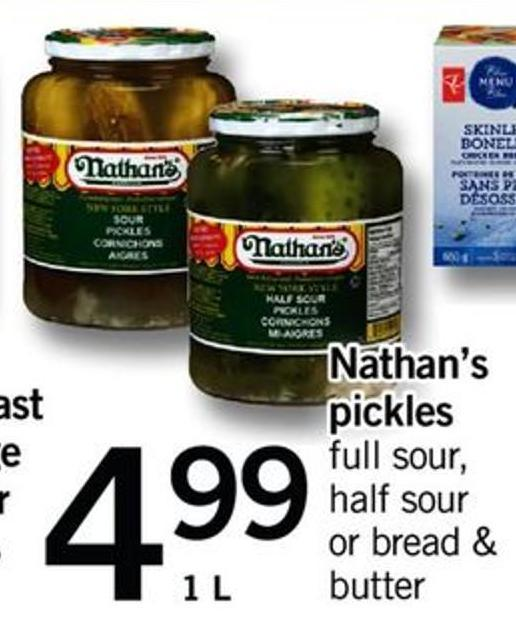 Nathan's Pickles - 1 L