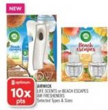 Airwick Life Scents or Beach Escapes Air Fresheners