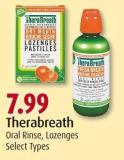 Therabreath Oral Rinse - Lozenges