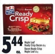 Maple Leaf Ready Crisp Bacon 65 g