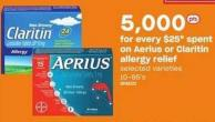 Aerius Or Claritin Allergy Relief - 10-85's