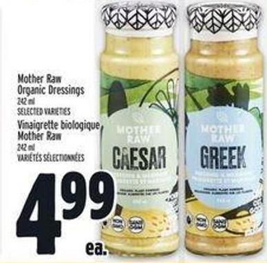 Mother Raw Organic Dressings