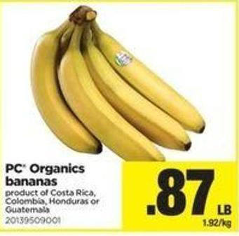 PC Organics Bananas