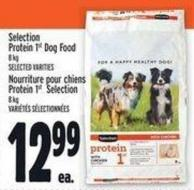 Selection Protein 1st Dog Food 8 Kg