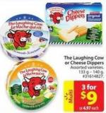 The Laughing Cow or Cheese Dippers