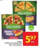 Delissio Stuffed Crust or Calzone Pizza