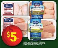 Prime Or Fresh From The Farm Chicken Drumsticks - Thighs Or Boneless Skinless Breasts