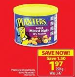 Planters Mixed Nuts 60% Peanuts