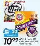 Arm & Hammer Cat Litter - 20 Air Miles Bonus Miles