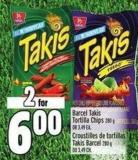 Barcel Takis Tortilla Chips 280 g Or 3.49 Ea.