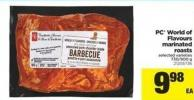 PC World Of Flavours Marinated Roasts - 730-900 g