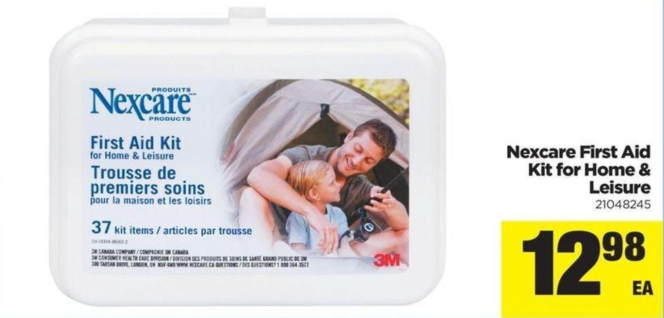 Nexcare First Aid Kit For Home & Leisure