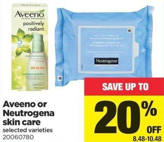 Aveeno Or Neutrogena Skin Care