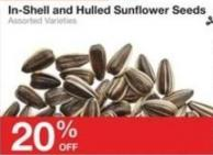In-shell and Hulled Sunflower Seeds