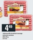 Johnsonville Breakfast Sausage - 250-375 g