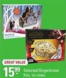 Selected Gingerbread Kits