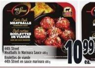 44th Street Meatballs In Marinara Sauce 680 g