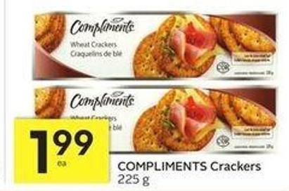 Compliments Crackers