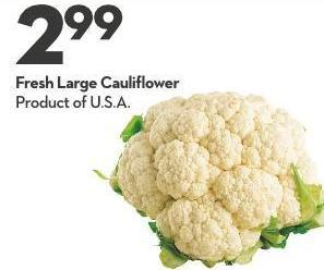 Fresh Large Cauliflower