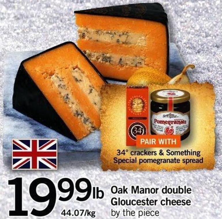 Oak Manor Double Gloucester Cheese