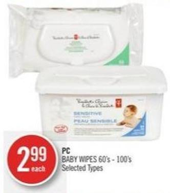 PC Baby Wipes