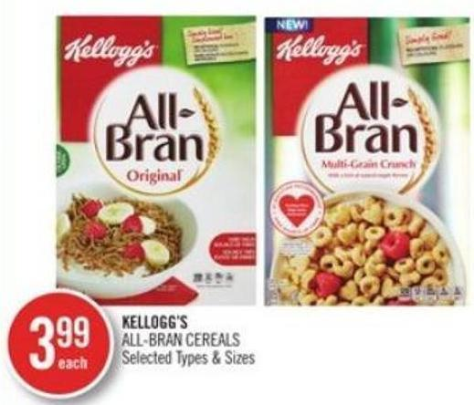 Kellogg's All-bran Cereals