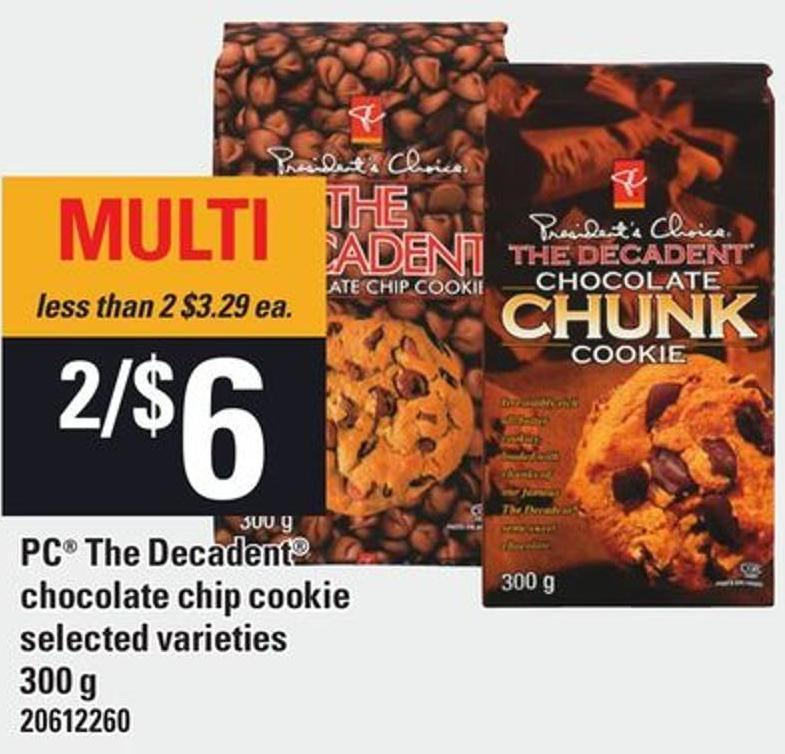 PC The Decadent Chocolate Chip Cookie - 300 g