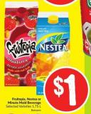 Fruitopia - Nestea or Minute Maid Beverage