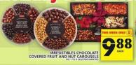 Irresistibles Chocolate Covered Fruit And Nut Carousels