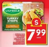 Lilydale Turkey Strips Or Cutlets