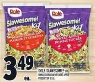 Dole Slawesome! 314 G Mango Sriracha Or Sweet Apple Product Of U.S.A.